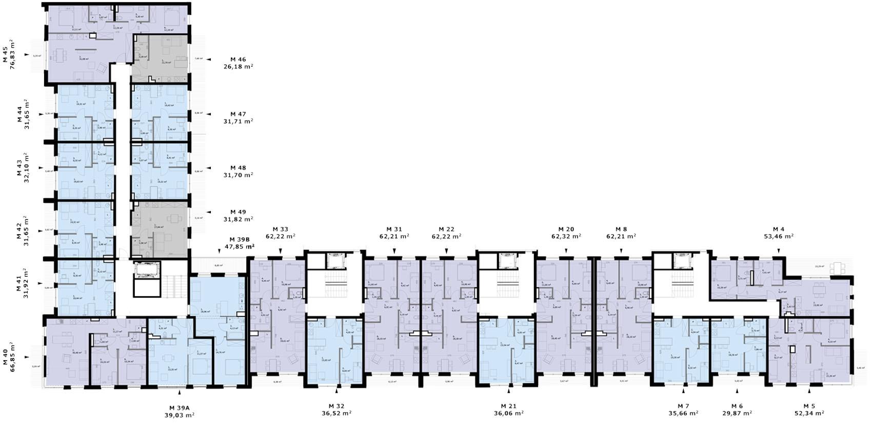 Wólczańska 188 - Piętro 1