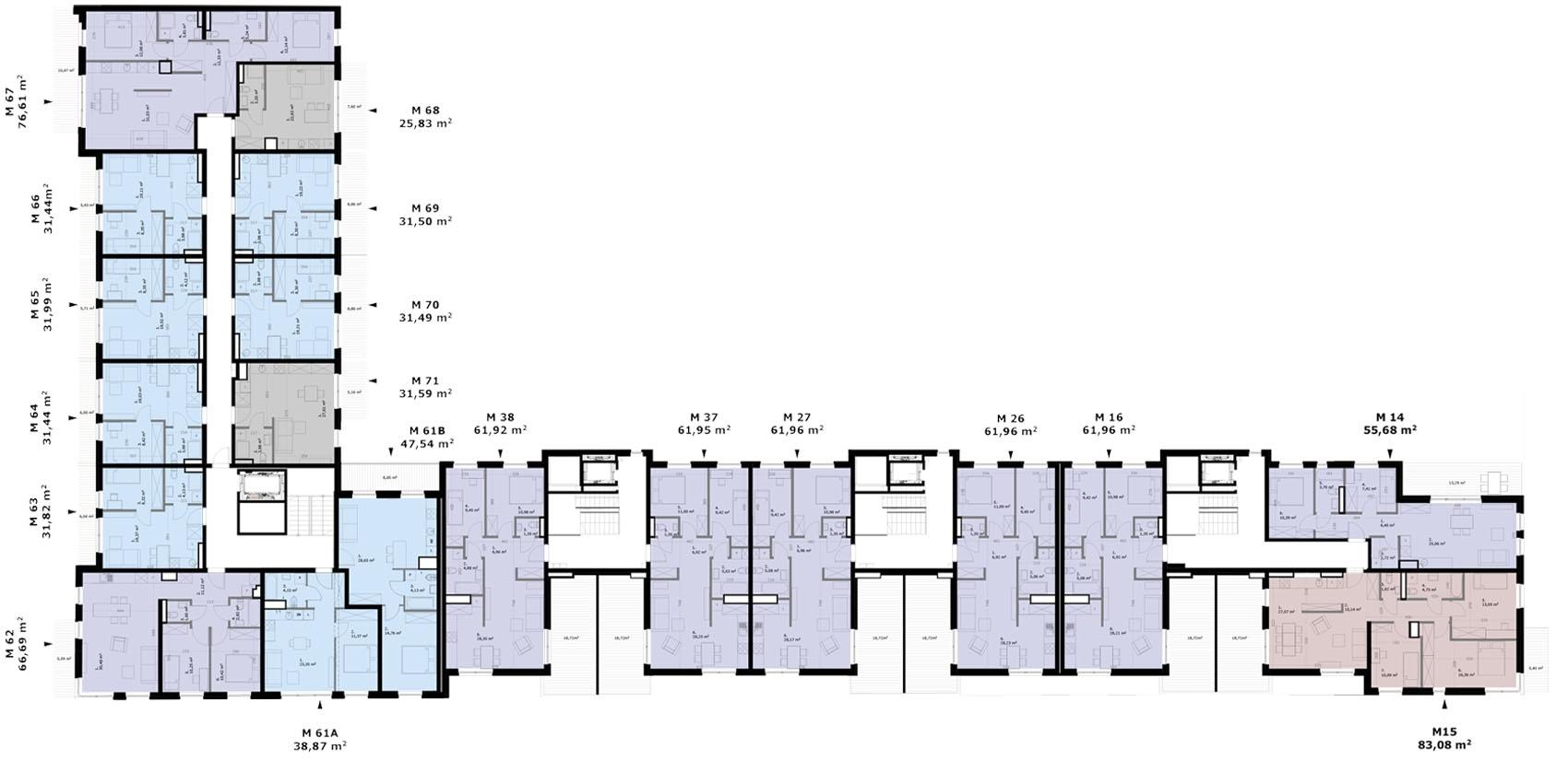 Wólczańska 188 - Piętro 3