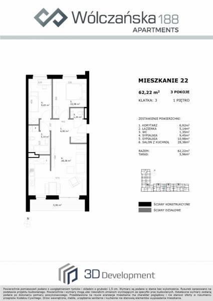 Mieszkanie 1M22