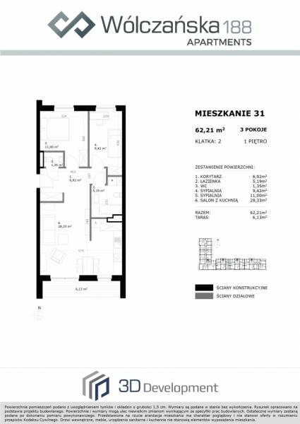 Mieszkanie 1M31