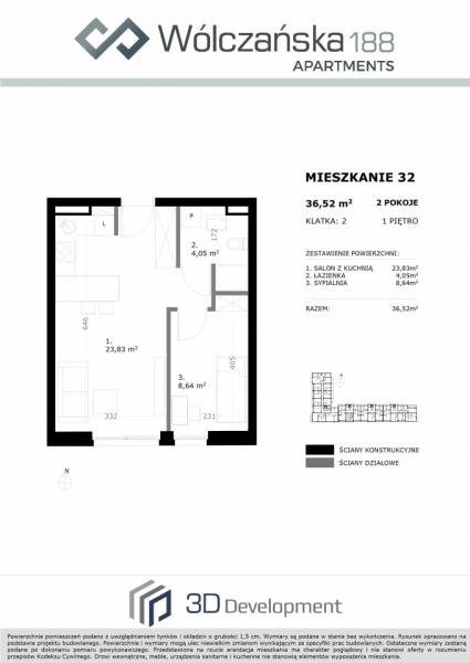 Mieszkanie 1M32