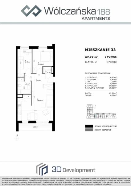 Mieszkanie 1M33