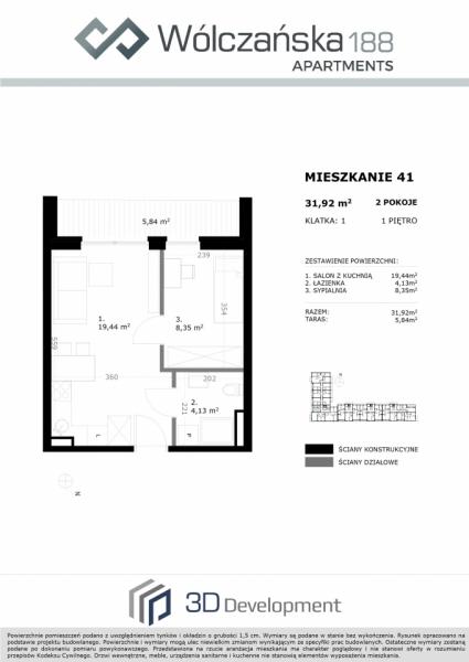 Mieszkanie 1M41