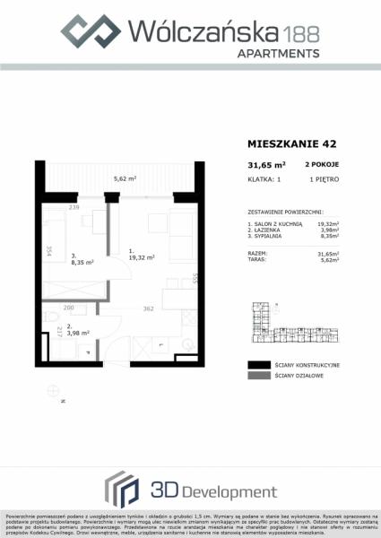 Mieszkanie 1M42
