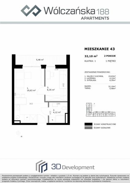 Mieszkanie 1M43