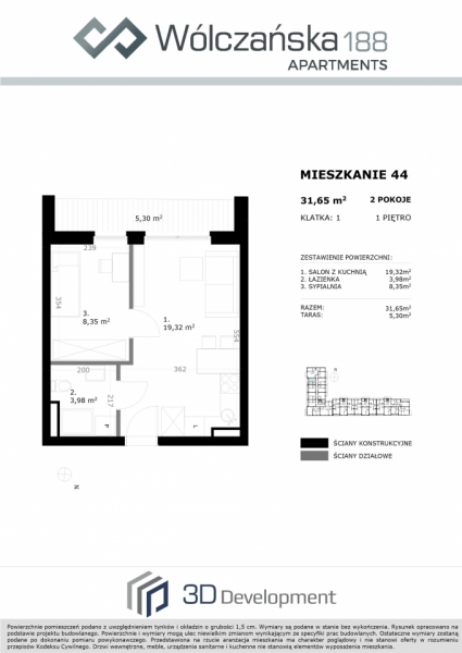 Mieszkanie 1M44