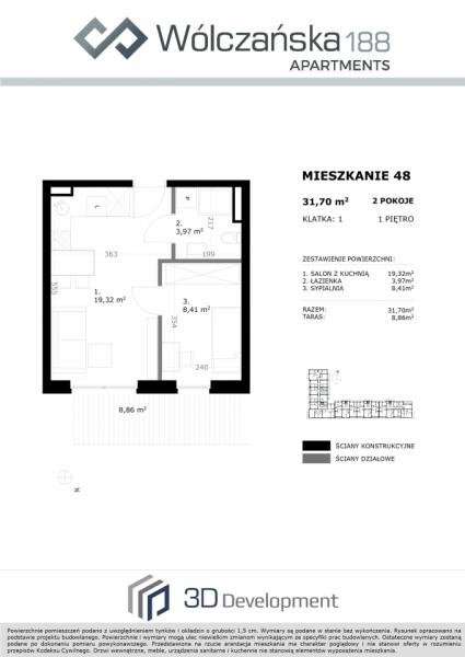 Mieszkanie 1M48