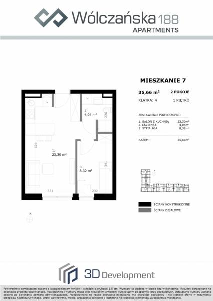 Mieszkanie 1M7