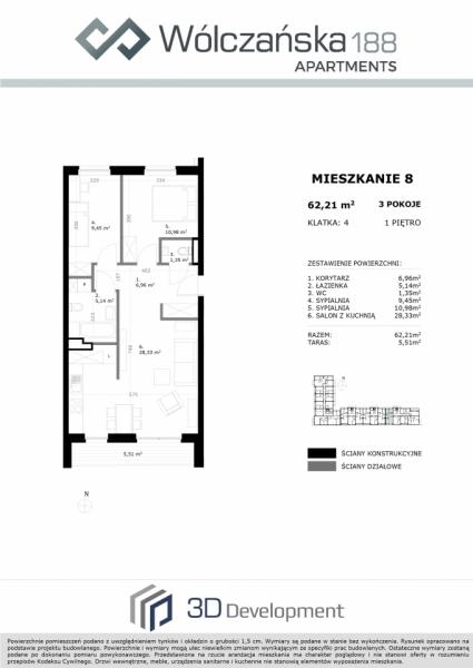 Mieszkanie 1M8