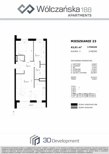 Mieszkanie 2M23