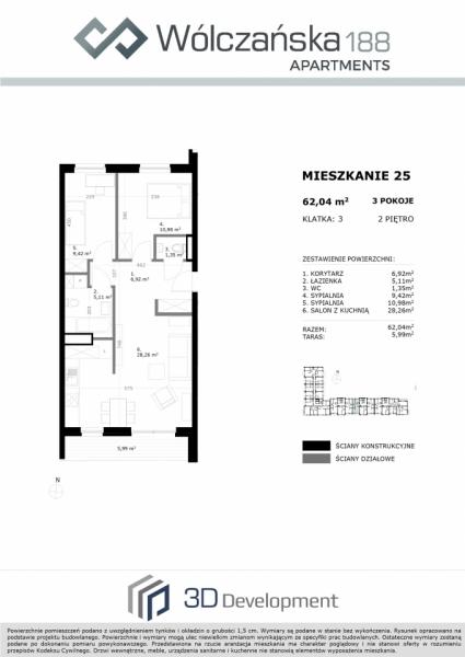 Mieszkanie 2M25