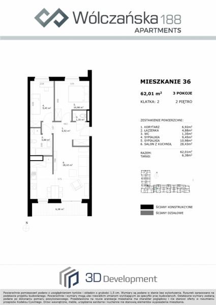 Mieszkanie 2M36
