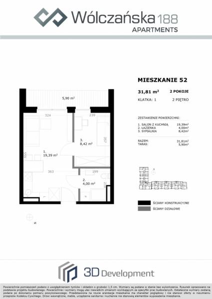 Mieszkanie 2M52