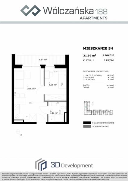 Mieszkanie 2M54