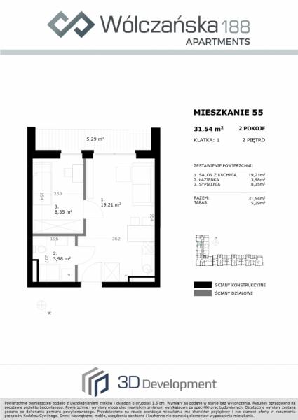 Mieszkanie 2M55