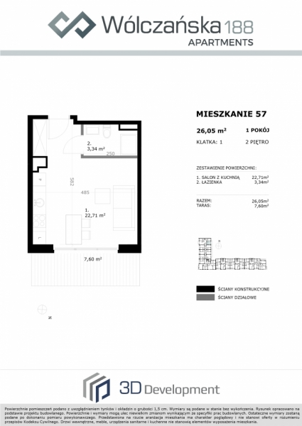 Mieszkanie 2M57