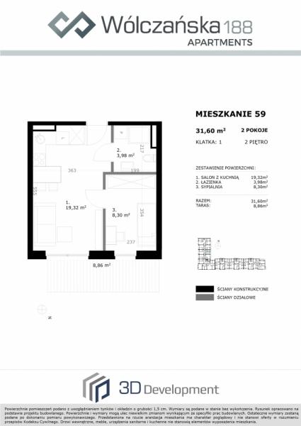 Mieszkanie 2M59