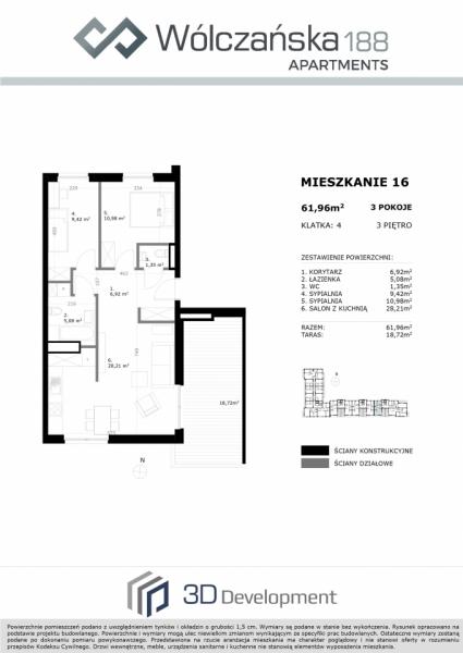 Mieszkanie 3M16
