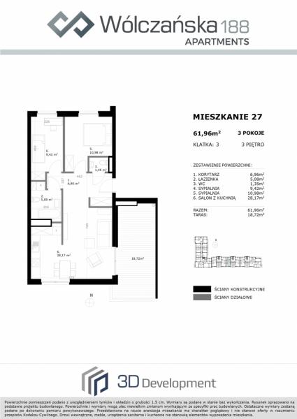Mieszkanie 3M27