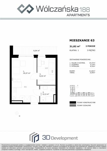Mieszkanie 3M63