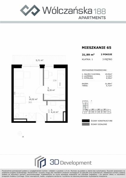 Mieszkanie 3M65
