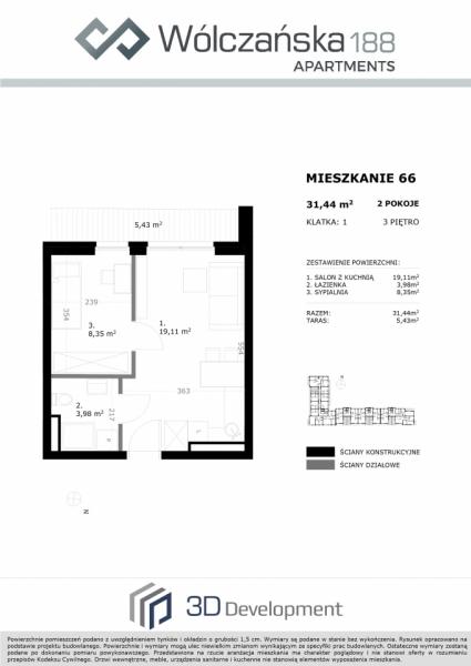 Mieszkanie 3M66
