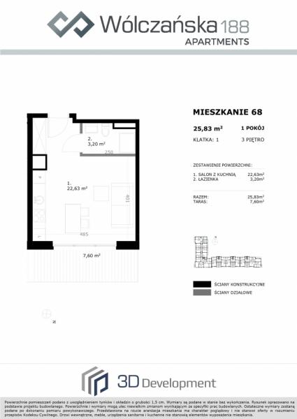 Mieszkanie 3M68