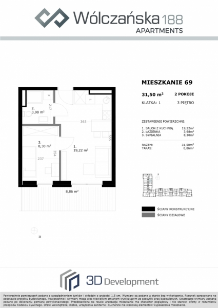 Mieszkanie 3M69