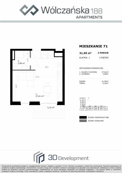 Mieszkanie 3M71