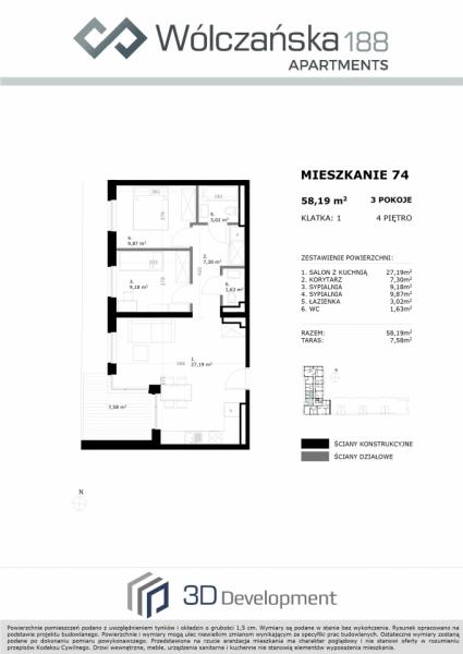 Mieszkanie 4M74