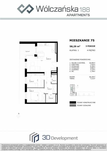 Mieszkanie 4M75