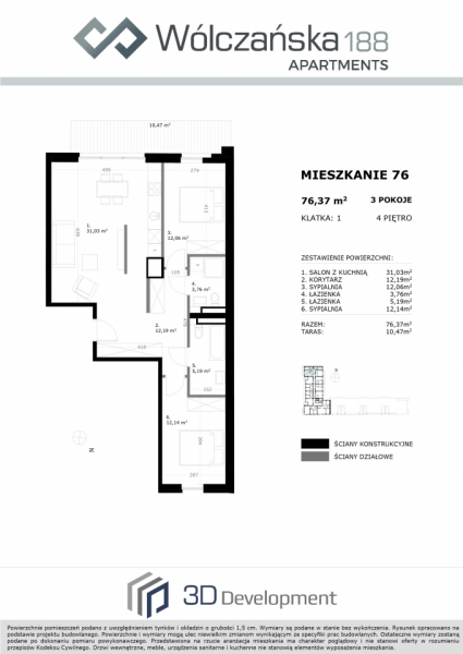 Mieszkanie 4M76
