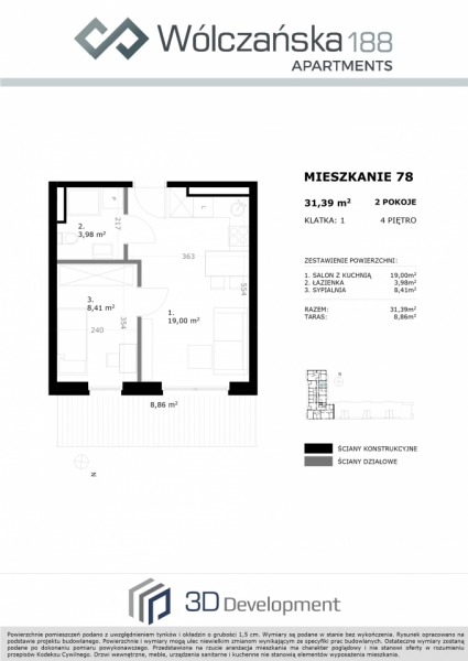 Mieszkanie 4M78