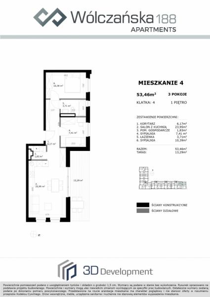 Mieszkanie 1M4